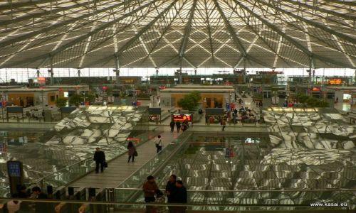 CHINY / - / Hangzhou / Dworzec w Szanghaju