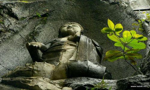CHINY / - / Hangzhou / Hangzhou - Świątyna Lingyin Si