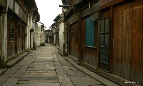 CHINY / - / Wuzhen / Wuzhen - uliczka