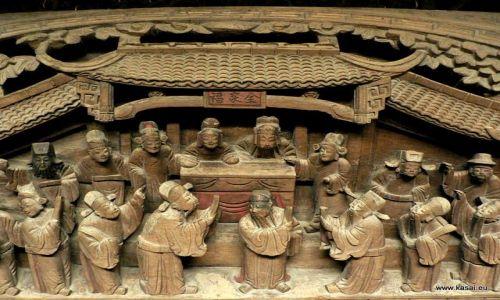 CHINY / - / Wuzhen / Wuzhen - muzeum rzeźby