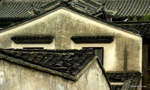 CHINY / - / Wuzhen / Wuzhen - dachy