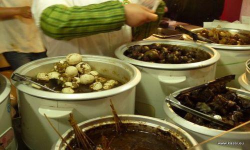 CHINY / - / Qibao / Kulinarnie - jajka...