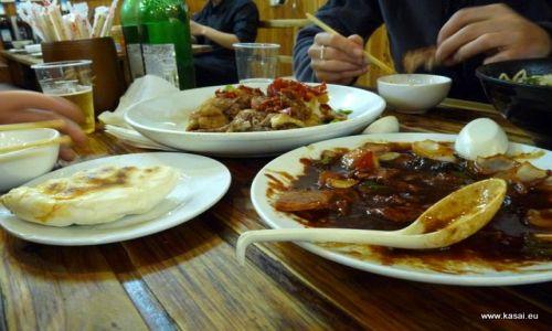 CHINY / - / Szanghaj / Kulinarnie - obiadek