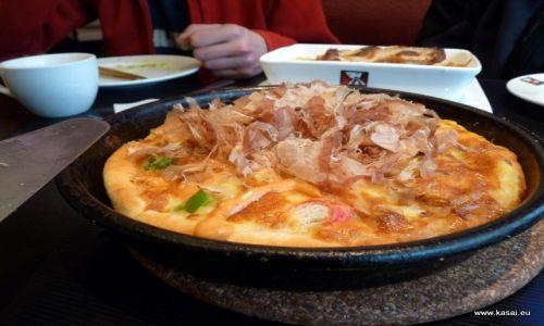 CHINY / - / Szanghaj / Kulinarnie - japońska pizza