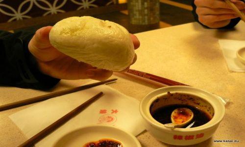 CHINY / - / Szanghaj / Kulinarnie - dumplingi