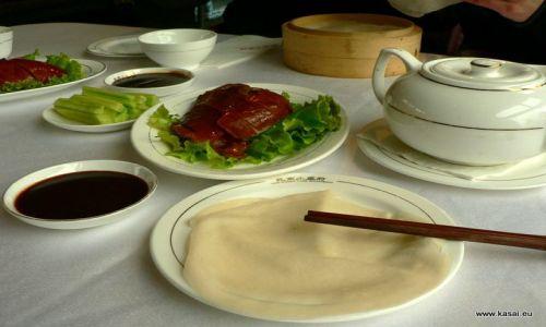 CHINY / - / Pekin / Kulinarnie - kaczka po pekińsku