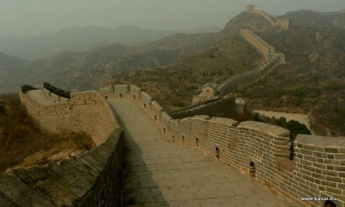 Zdjecie CHINY / - / Jinshanling Simatai  / Wielki Mur