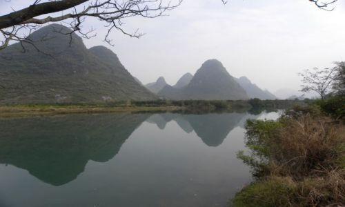 Zdjęcie CHINY / Kuangsi / gullin yangshuo / okolice yangshuo