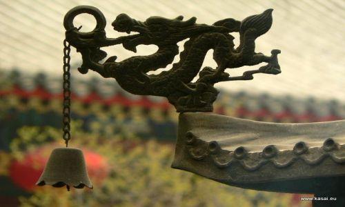 CHINY / - / Pekin / Pekin - smok z kadzielnicy