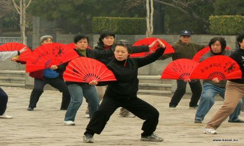 CHINY / - / Pekin / Pekin - tai chi