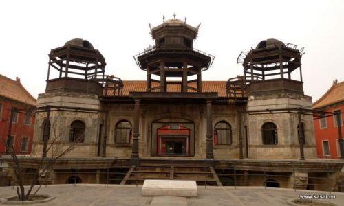 CHINY / - / Zakazane Miasto / Pekin - niedokończony pałac