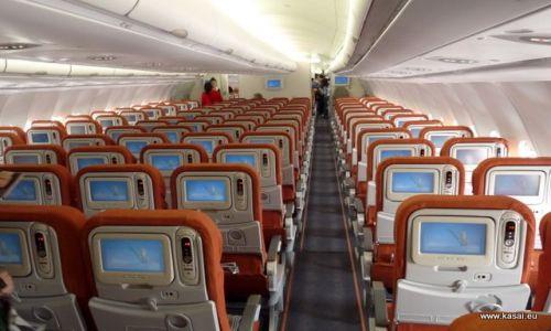 CHINY / - / Samolot Aeroflotu / Pekin - Moskwa