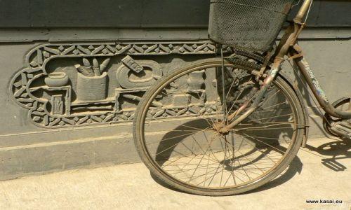 CHINY / - / Hutongi / Pekin - rowerek
