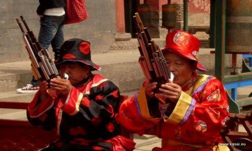 CHINY / - / Chengde / Chengde - orkiestra