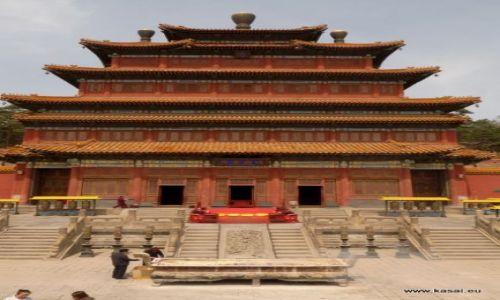 CHINY / - / Chengde / Chengde - świątynia Puning