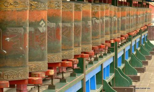 CHINY / - / Chengde / Chengde - Światynia Putouozhongsheng