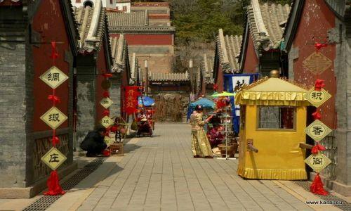 CHINY / - / Chengde / Chengde - uliczka Puning