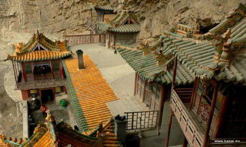 Zdjecie CHINY / - / okolice Datongu / Wisząca Świątynia