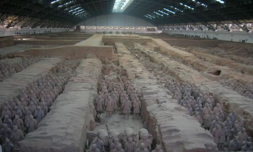 CHINY / brak / okolice Xianu / Terakotowa Armia