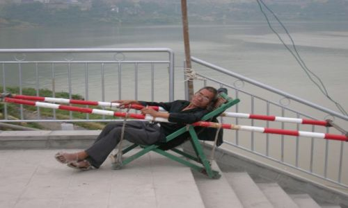 Zdjecie CHINY / rejsc po Jangcy / Miasto Duchow / czy sie stoi cz