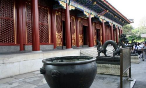 Zdjecie CHINY / - / PEKIN / Pałac Letni