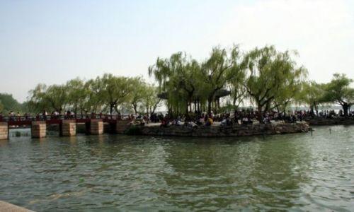 Zdjecie CHINY / - / PEKIN / Pałac Letni - jezioro Kunming