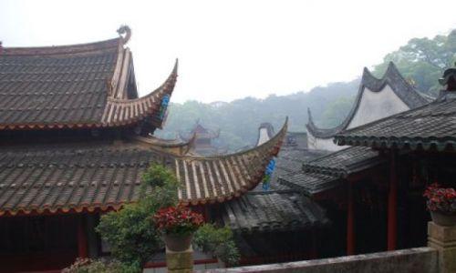 Zdjęcie CHINY / Fuzhou / Gushan / Gushan Yongquanshi Temple