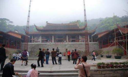 Zdjęcie CHINY / Gushan / Fuzhou / Gushan Yongquanshi Temple