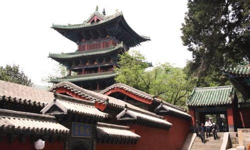 Zdjęcie CHINY / brak / Klasztor Shaolin / Klasztor Shaolin