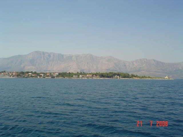 Zdjęcia: chorwacja, dalmacja, wyspa hwar  od morza, CHORWACJA