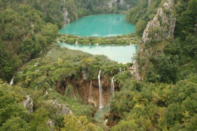 Zdjęcia: Plitvice Lakes National Park, Dalmacja, Plitvickie Lakes - raj na ziemi, CHORWACJA