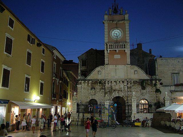 Zdjęcia: Zadar, Rynek, CHORWACJA