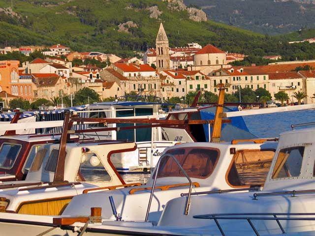 Zdjęcia: Makarska, W porcie, CHORWACJA