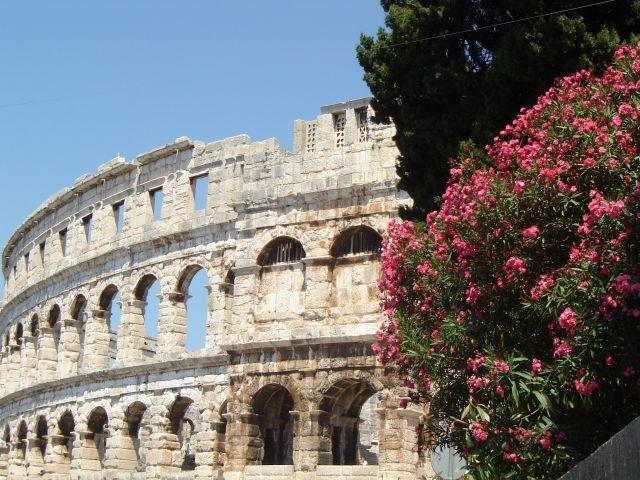 Zdjęcia: Pula, Istria, amfiteatr w Puli, CHORWACJA