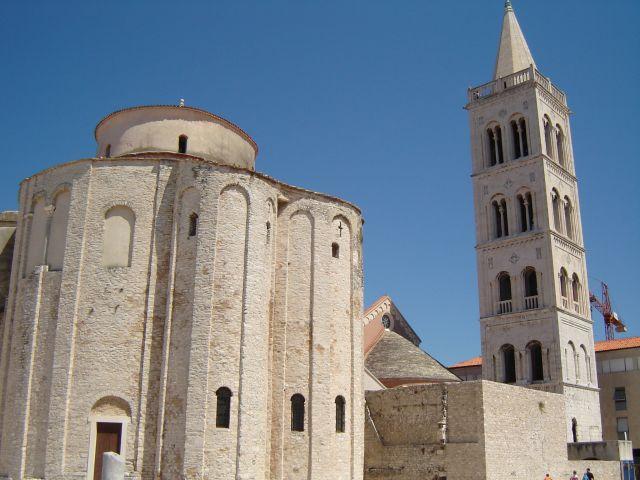 Zdjęcia: Zadar, katedra św.Donata, CHORWACJA