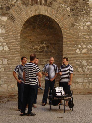 Zdjęcia: Split, To chyba nie chórek więźniów? :), CHORWACJA