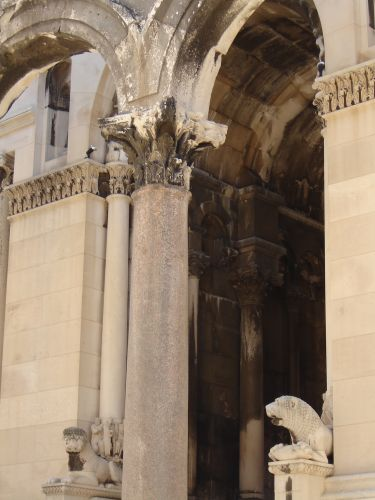 Zdj�cia: Split-pa�ac Dioklecjana, Split, CHORWACJA