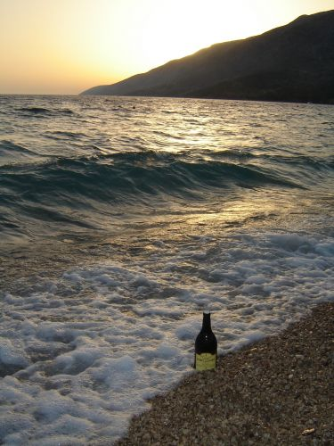 Zdjęcia: Brac, Upojne noce na plaży Bol..., CHORWACJA