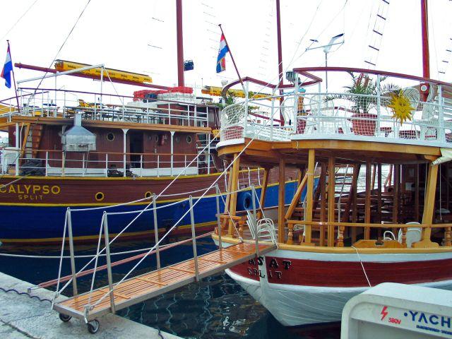Zdjęcia: Makarska, Port , CHORWACJA
