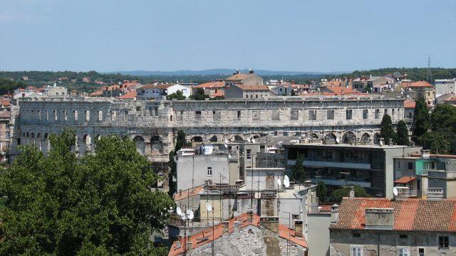 Zdjęcia: Pula, Istria, Pula-starówka, CHORWACJA