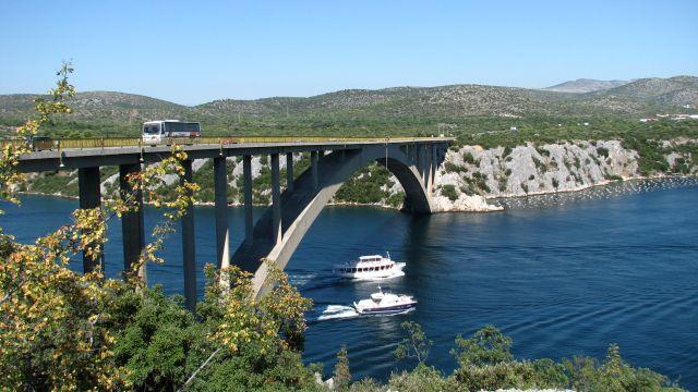 Zdjęcia: Szybenik, Most w Szybeniku, CHORWACJA