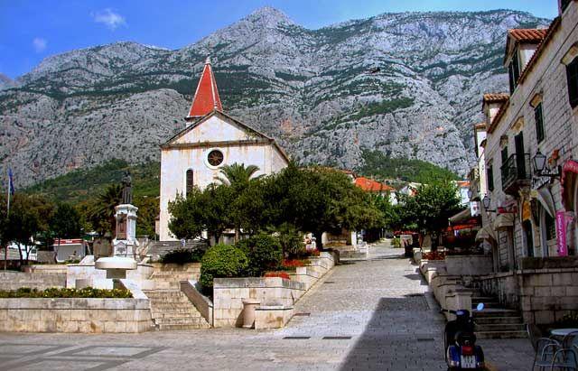 Zdjęcia: Makarska, Dalmacja, rynek, CHORWACJA