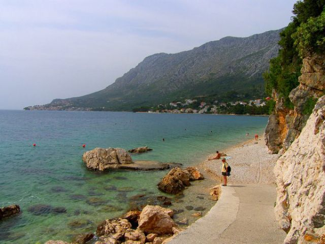 Zdj�cia: Makarska Riviera, Dalmacja, brzeg #1, CHORWACJA