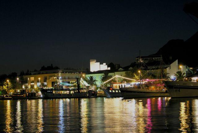 Zdjęcia: Makarska, Dalmacja, port, CHORWACJA