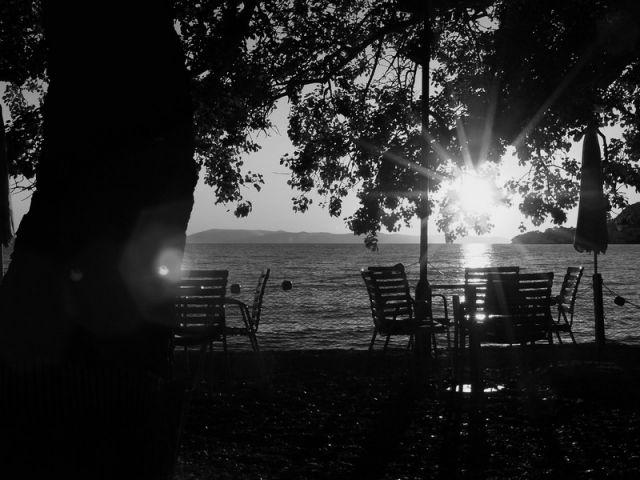 Zdjęcia: Zivogosce, Dalmacja, wieczorem..., CHORWACJA