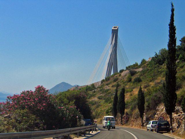 Zdjęcia: Dubrownik, Widok na most , CHORWACJA
