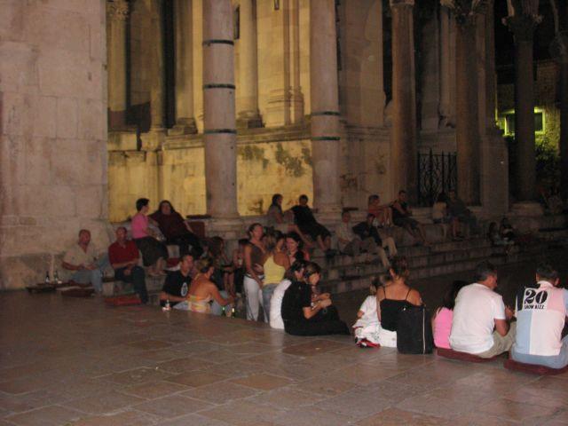 Zdj�cia: Split, 2.00 Split by night c.d., CHORWACJA