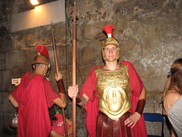 Zdjęcia: Split, Rzymski wojownik, CHORWACJA