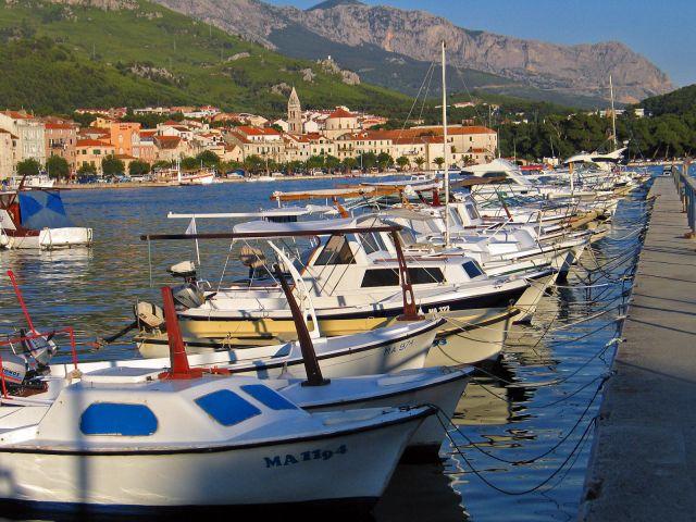 Zdjęcia: Makarska, Port jachtowy, CHORWACJA