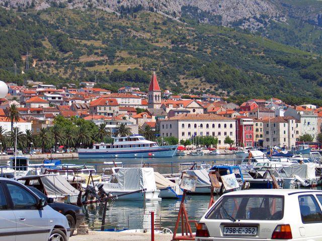 Zdjęcia: Makarska, Port, CHORWACJA